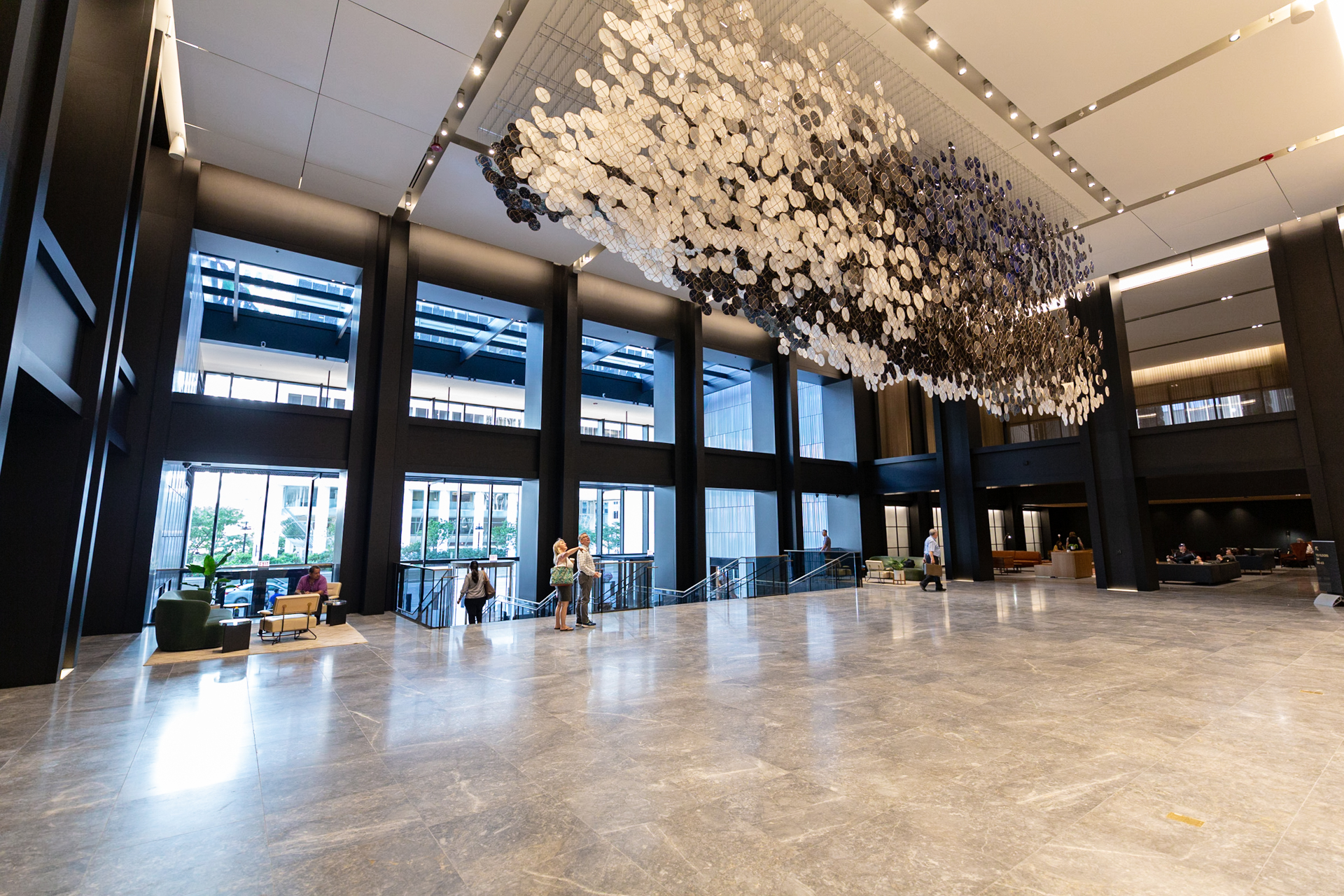 The Transformation Continues with New Wacker Drive Lobby and Art Installation Unveiling