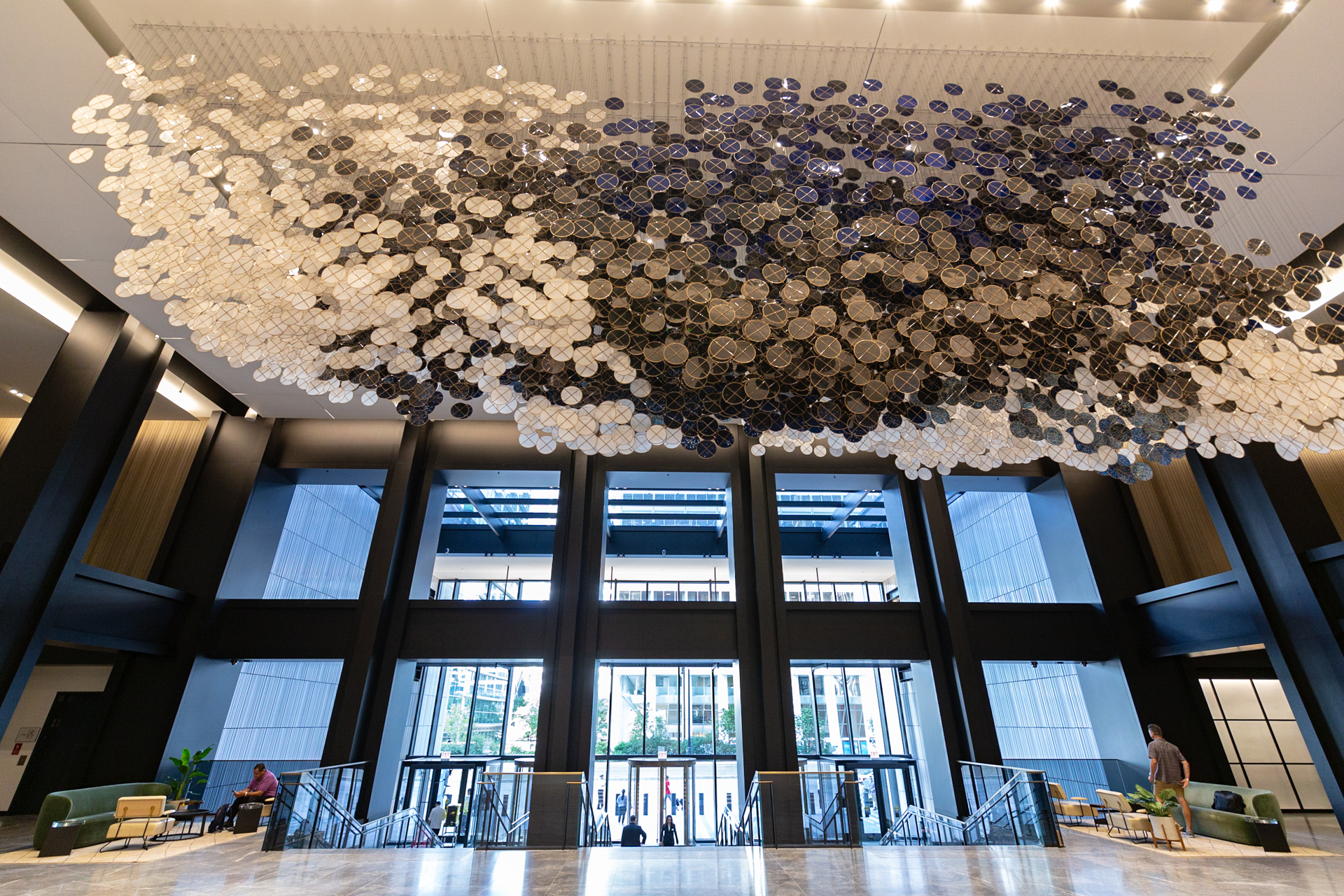 Willis Tower Celebrates Opening Of New Lobby With Specially Commissioned Art
