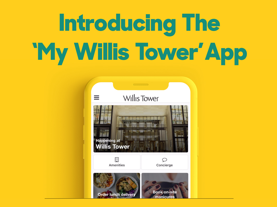 Willis Tower and EQ Office Launch 'My Willis Tower' App