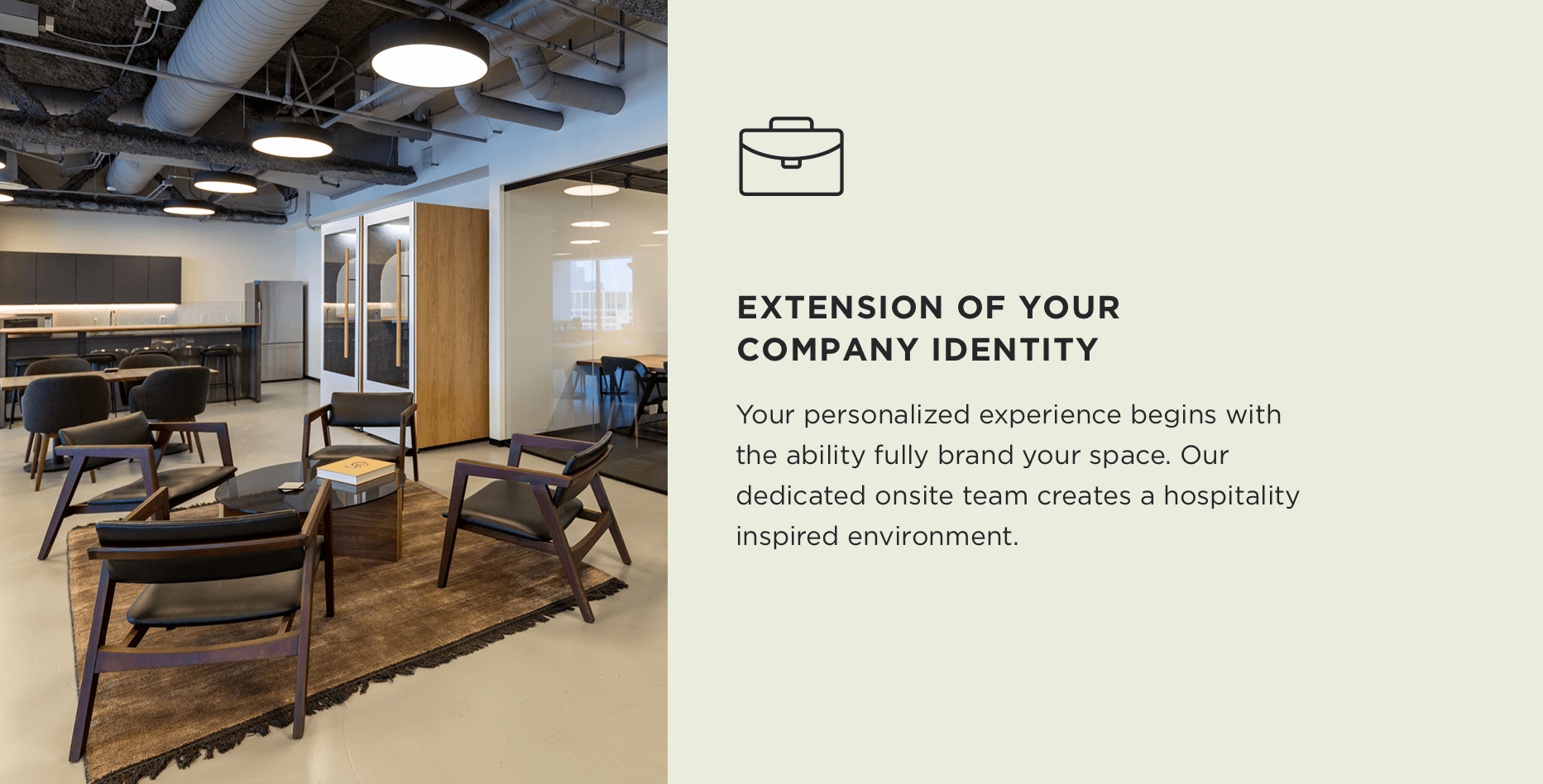 Extension Of Your Company Identity